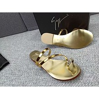 GZ Popular Summer Women's Flats Men Slipper Sandals Shoes