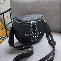 Balenciaga Fashion Women's High-end Graffiti Series Shoulder Bag