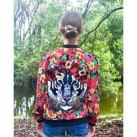 Roar Bomber Jacket