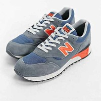 New Balance 496 80's Running Sneaker- Grey