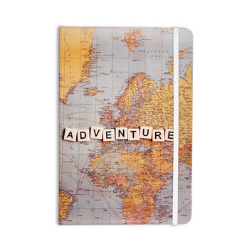 """Sylvia Cook """"Adventure Map"""" World Everything Notebook"""