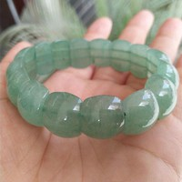 Yu Xin Yuan Fine Jewelry Natural DongLing Jade Bracelet Handmade jade Bangle Lucky amulet Men Women jewelry