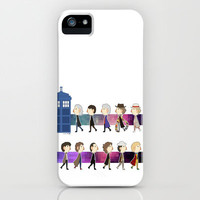 Doctor Who iPhone & iPod Case by aken