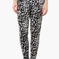 Topshop Print Tapered Trousers | Nordstrom