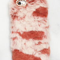 Coral Fuzzy iPhone Case