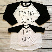Mommy and Me Bear Club Set