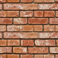 Removable Wallpaper - Realistic Bricks