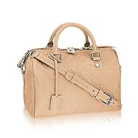 Louis Vuitton Speedy Bandoulière 25 Cross Body Leather Handles Bag Article: M41192 Made in France