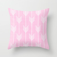 never ending. Throw Pillow by Pink Berry Patterns