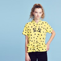 Lazy Oaf Leopard Shirt - Clothing - NEW IN - Womens
