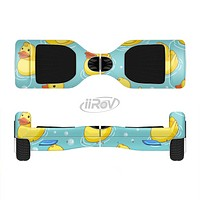 The Cute Rubber Duckees Full-Body Skin Set for the Smart Drifting SuperCharged iiRov HoverBoard