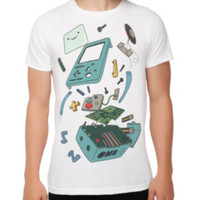 Adventure Time BMO In Pieces Slim-Fit T-Shirt 3XL