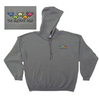 Bears Embroidered Hoodie