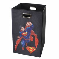 Superman Collapsible Laundry Basket
