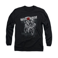 SONS OF ANARCHY REAPER LOGO Long Sleeve T-Shirt