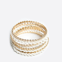 Jump Through Hoops Bracelet