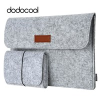 "dodocool 12"" 13"" laptop Bag Case for macbook air 13 macbook pro 13 Case Laptop Sleeve Cover Case 4 Compartments with Mouse Pouch"