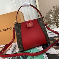 lv louis vuitton newest popular women leather handbag tote crossbody shoulder bag satchel 828