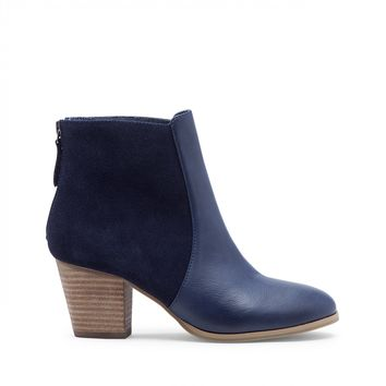 Sole Society Chris Mixed Materials Bootie