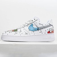 Nike Air Force 1 Low low-top hand-painted casual wild cushioning shoes
