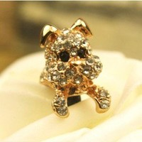Puppy Dust Plug in Rose Gold