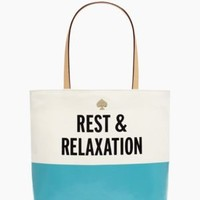 starwood rest and relaxtion tote - kate spade new york