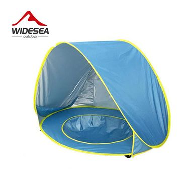 baby pool tent  pop up open sun shelter for baby UV-protect