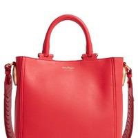 Salvatore Ferragamo Small Paola Leather Tote | Nordstrom