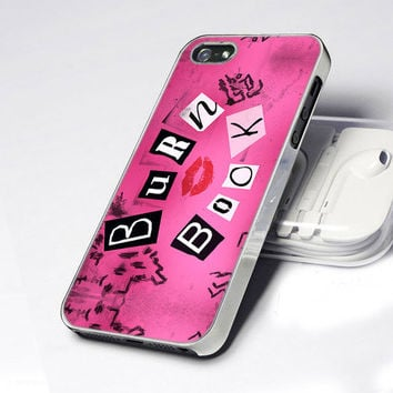 Mean Girls Burn Book  - Photo Design Hard Case for iPhone 4 / 4s case and iPhone 5 case. Please CHOOSE THE OPTION
