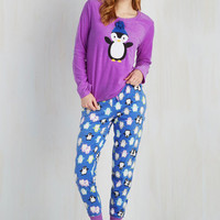 Quirky Penguin-Win Situation Pajamas