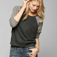 Corner Shop Contrast City Top - Urban Outfitters