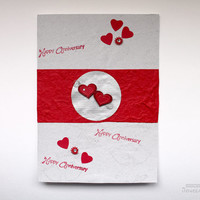Valentines Day Card - Anniversary Card - Love and Wedding Card