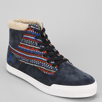 Fred Perry Meynell Fair Isle Suede Sneaker - Urban Outfitters
