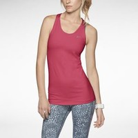 Nike Store. Nike Solid Long Stretch Distance Women's Running Tank Top