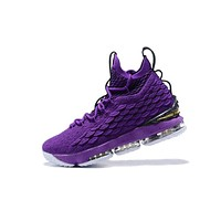 Nike LeBron James Fashion Men Running Sport Casual Shoes Sneakers Purple Black I-CSXY