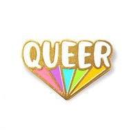 Queer Rainbow Pin