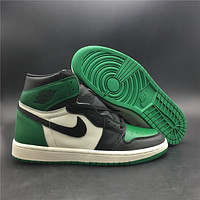 "Air Jordan 1 Retro ""Pine Green"" 555088-302"