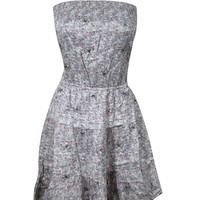 Women's Boho Dress Spring Sexy Floral Printed Fashion Holiday Dresses