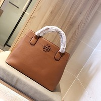 Tory burch Women Leather Shoulder Bags Satchel Tote Bag Handbag Shopping Leather Tote Crossbody