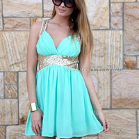 PRE ORDER - GOLDEN MOMENT DRESS (Expected Delivery 16th April, 2014) , DRESSES, TOPS, BOTTOMS, JACKETS & JUMPERS, ACCESSORIES, 50% OFF SALE, PRE ORDER, NEW ARRIVALS, PLAYSUIT, COLOUR, GIFT VOUCHER,,Green,Sequin,SLEEVELESS Australia, Queensland, Brisbane