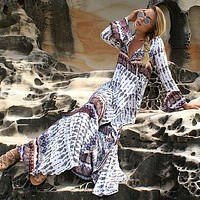 Women Bikini Swimsuit Cover Up Long Beach Dress Ladies Tunics Bathing Suit