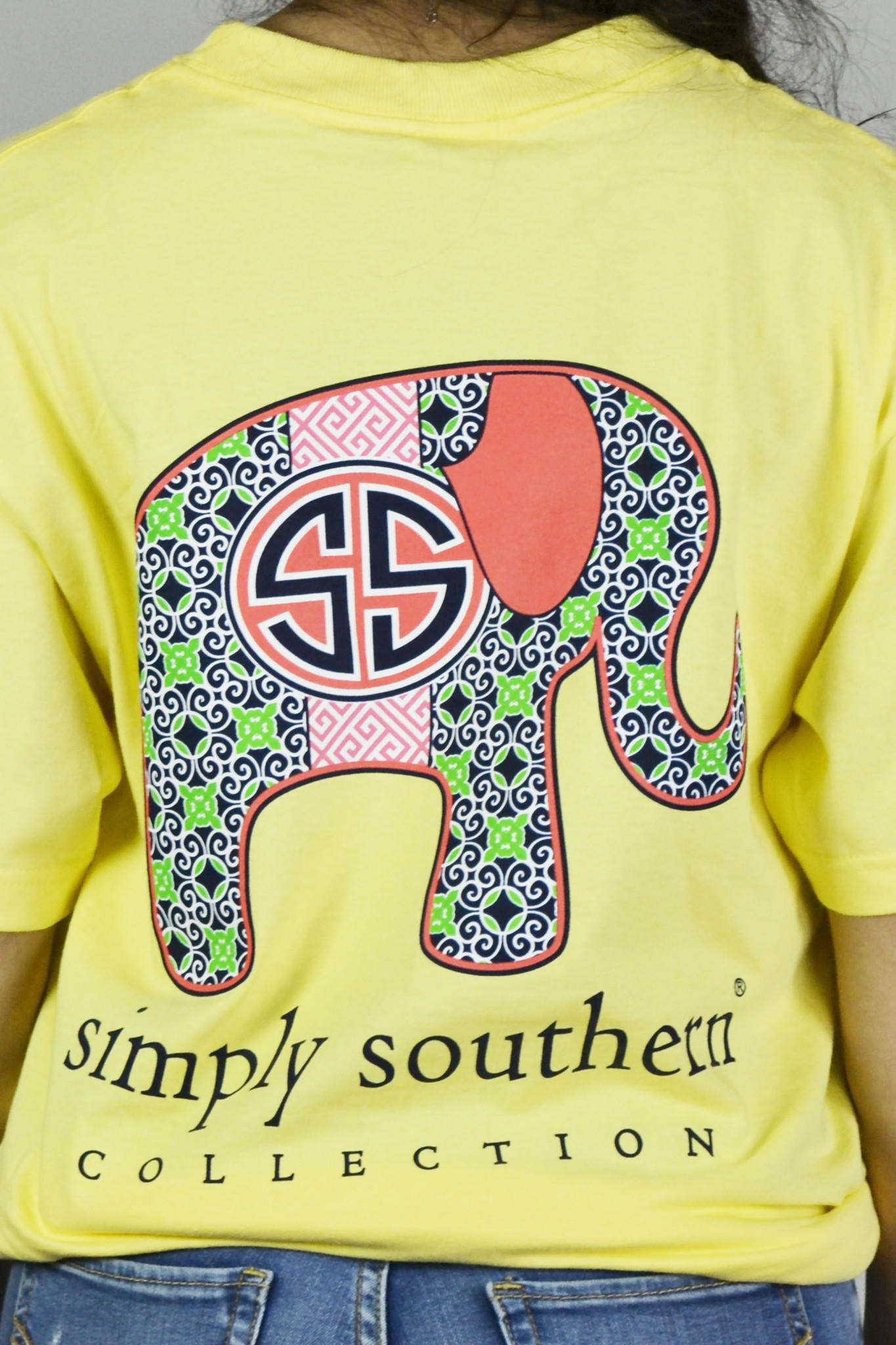 Image of Elephant Collections Simply Southern Tee
