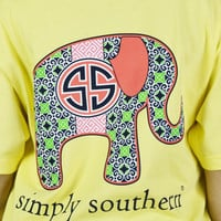 Elephant Collections Simply Southern Tee