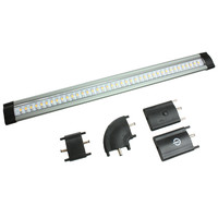 "Lunasea 12"" Modular LED Light Bar w/Dimmer Control & Extension Accessories"