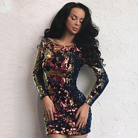 Yes Please Sequins Dress