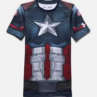 Boys' Under Armour® Alter Ego Captain America Fitted Shirt | Under Armour US