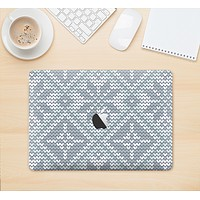 """The Knitted Snowflake Fabric Pattern Skin Kit for the 12"""" Apple MacBook (A1534)"""