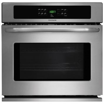 """Frigidaire - 30"""" Built-In Single Electric Wall Oven - Stainless Steel"""