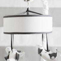 New Arrivals Song Bird in Gray Crib Mobile