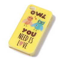 Owl You Need is Love iPhone Cover for 4 & 4S  | Claire's